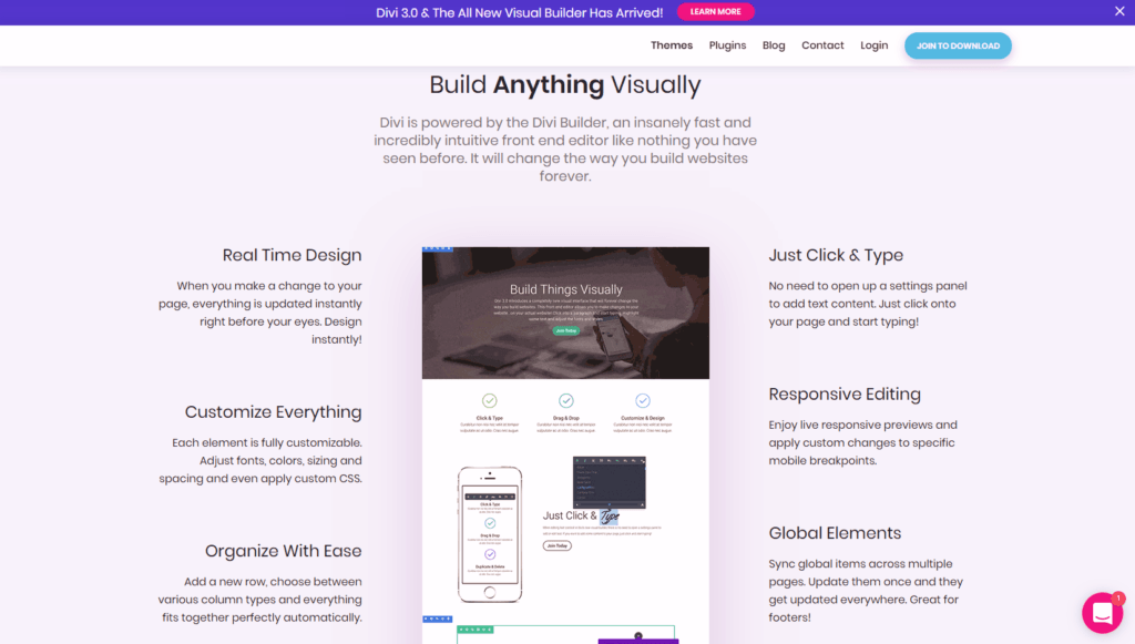 Divi theme review