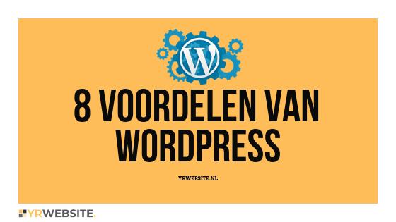 8 voordelen van WordPress